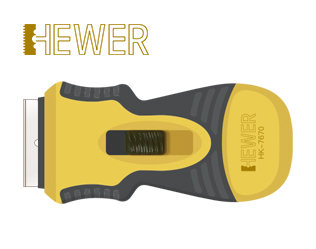HEWER Safety Scraper HK-7675
